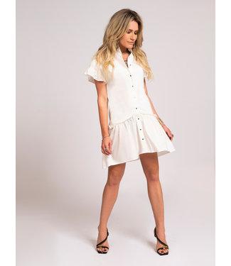 NIKKIE Florike Dress 5113 star white