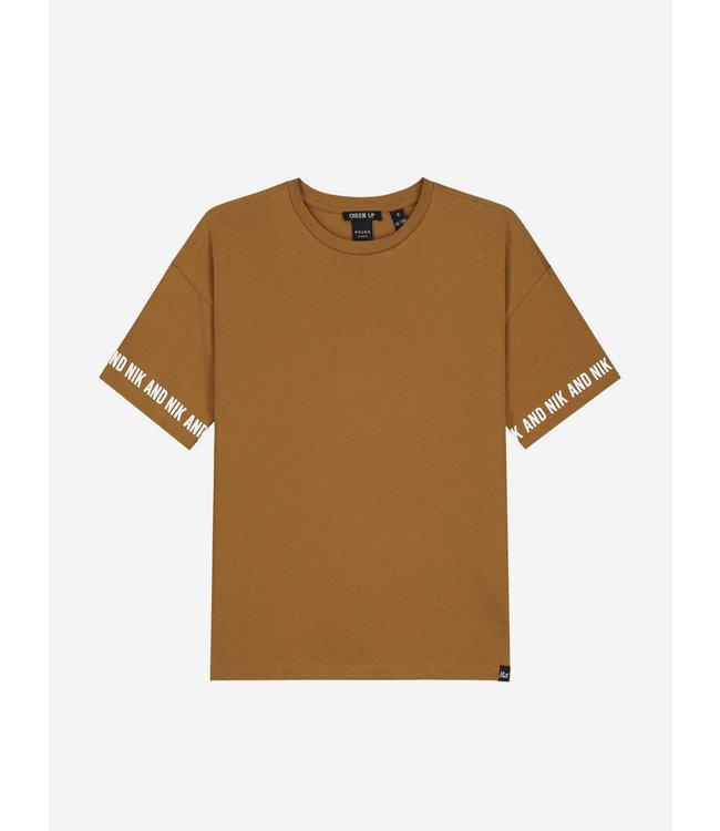 Regan T-Shirt 8800 mustard