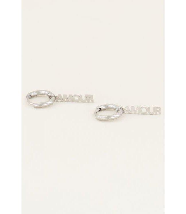 Oorbellen amour MJ01920-1500 zilver