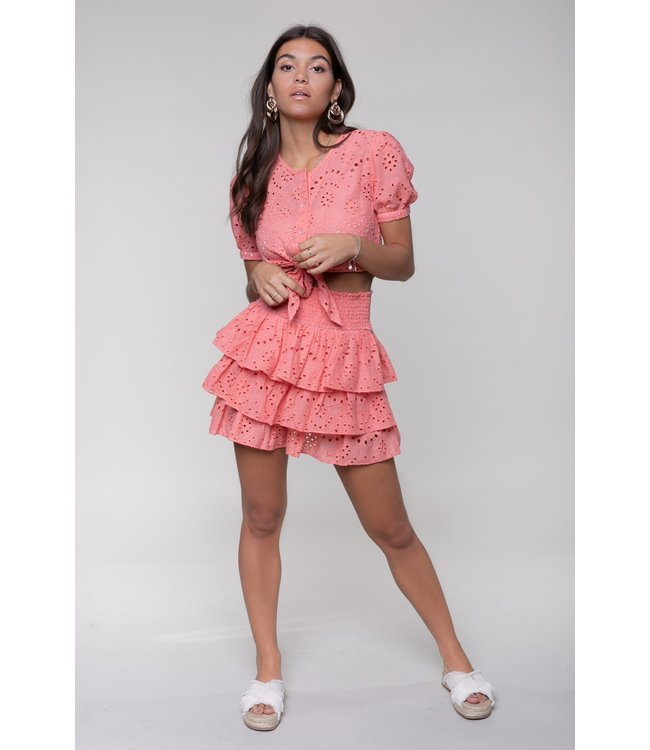 Nuna Broderie Skirt 10337 Pink