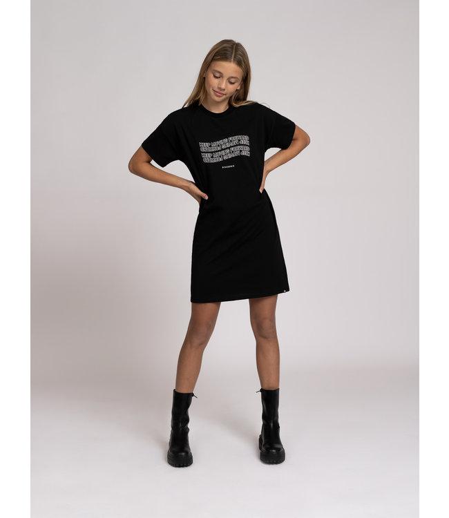 Keep Tee Dress 5-811 Black