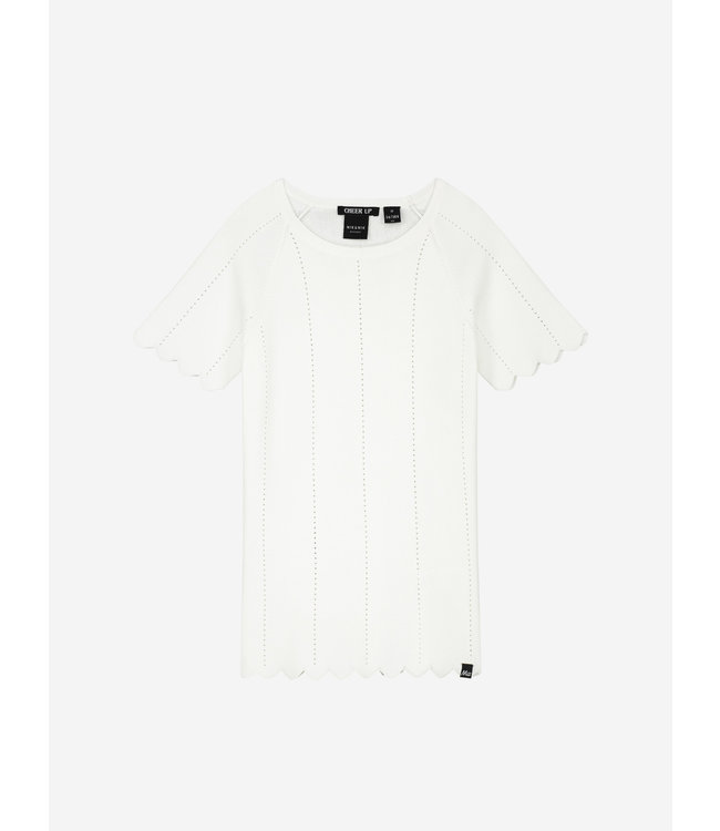 Gracy Jolie Top 7-729 Offwhite