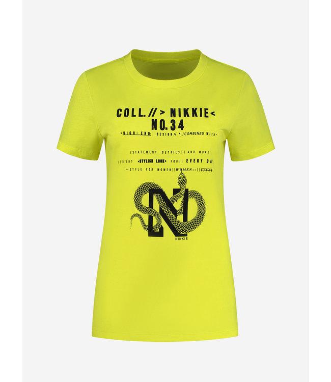 Snake Coll.34 T-Shirt 6180 - green