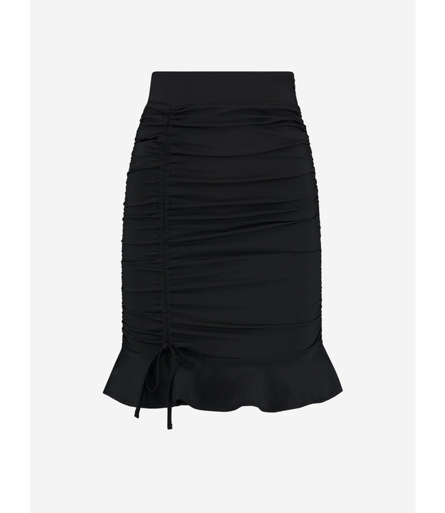 Suzy Ruched Skirt 3093 black