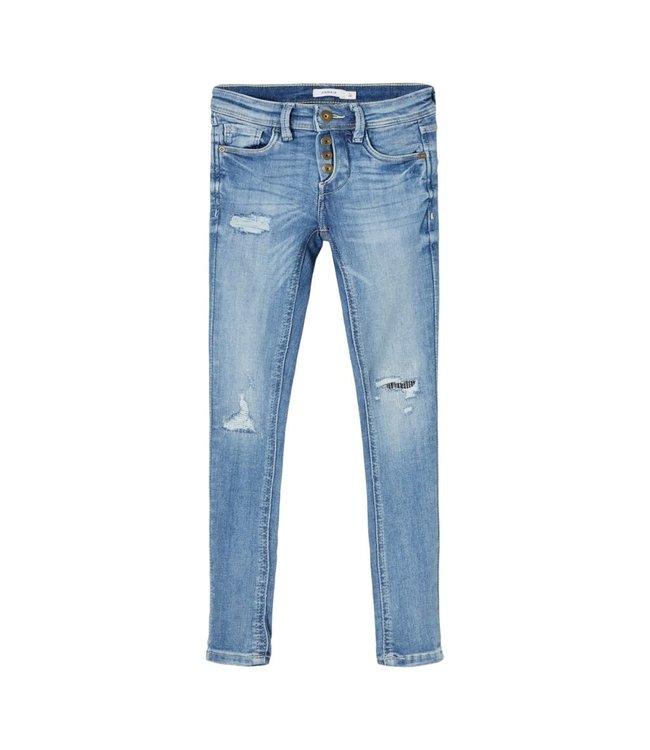 NKMPETE Skinny 1453 13185466 - light blue