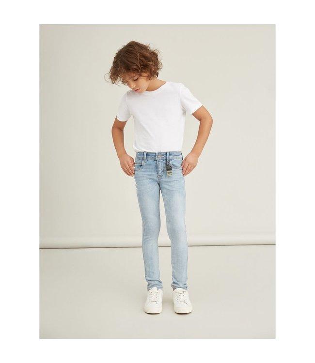 NKMPETE Skinny jeans 13185700 - light blue