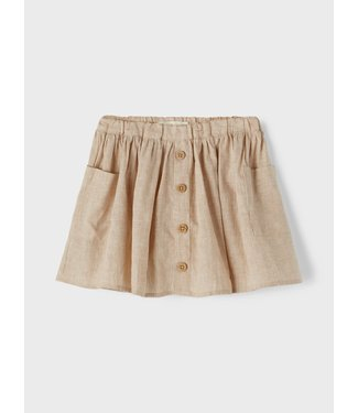 Lil Atelier NMFSOLVA Skirt 13197564 Tobacco Brown