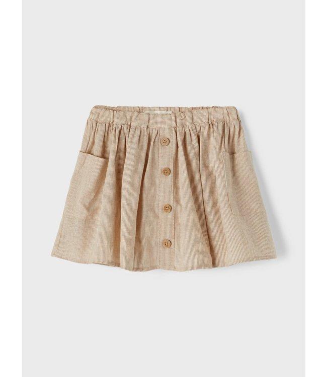 NMFSOLVA Skirt 13197564 Tobacco Brown