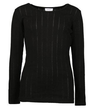 D-XEL T-shirt l/s 4008654 - zwart