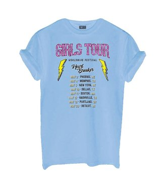 AZUKA Girls Tour (rock fit) - sky blue