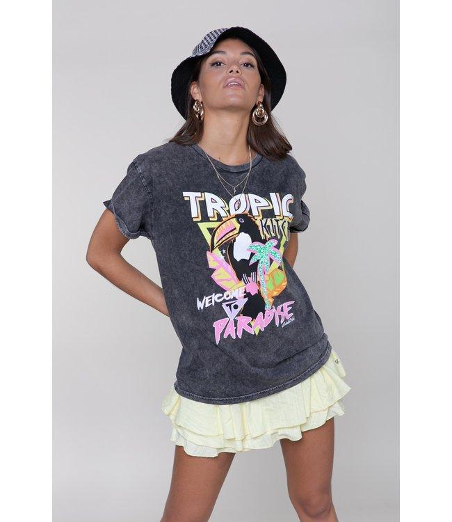Tropic Tucan Boxy Tee 10420  Acid