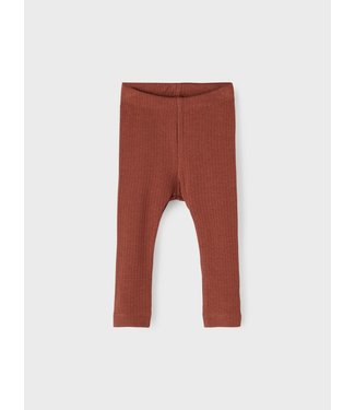 name it NBMHENU Legging 13197480 - Brown Out