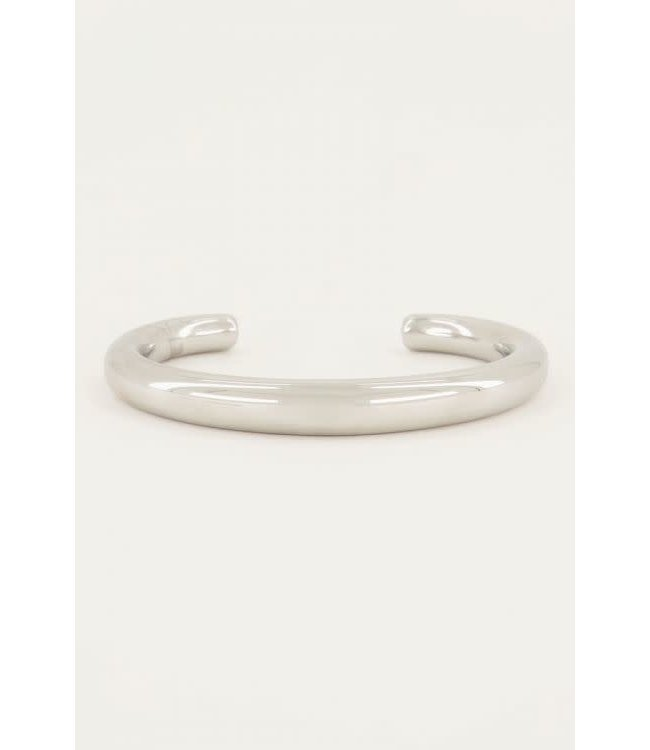 Bangle minimalistische breed MJ049181500 Zilver