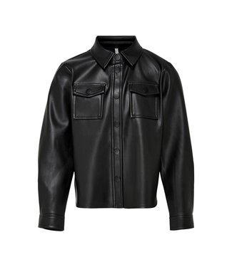 KIDS ONLY KONBRYLEE faux leather shirt 15222390