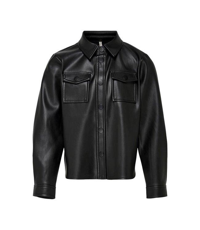 KONBRYLEE faux leather shirt 15222390