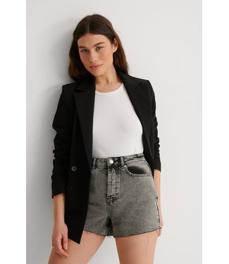 NA-KD Vintage denim shorts 007558 - grey