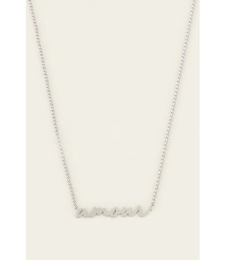 My Jewellery Ketting amour MJ03626 zilver