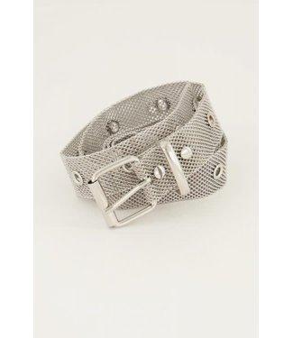 My Jewellery Mesh riem MJ05027 zilver