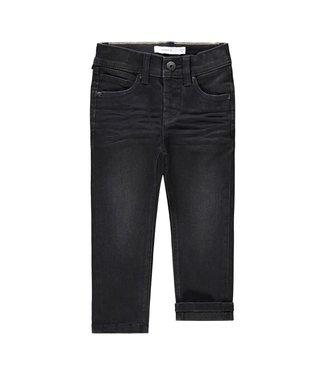 name it NMMSILAS Jeans 13191325 Black Denim