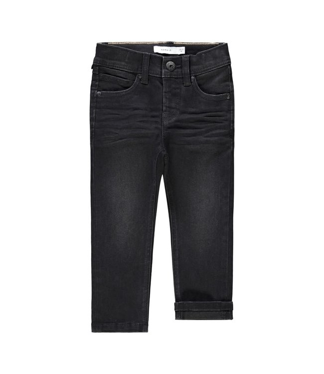NMMSILAS Jeans 13191325 Black Denim
