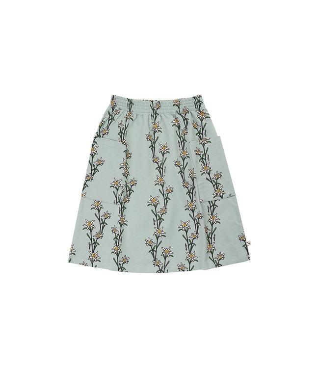 Edelweiss - midi skirt wt side pockets EDE057