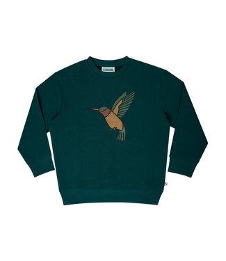 CarlijnQ Hummingbird – sweater wt print HUM096