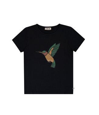 CarlijnQ Hummingbird – t-shirt wt print HUM095