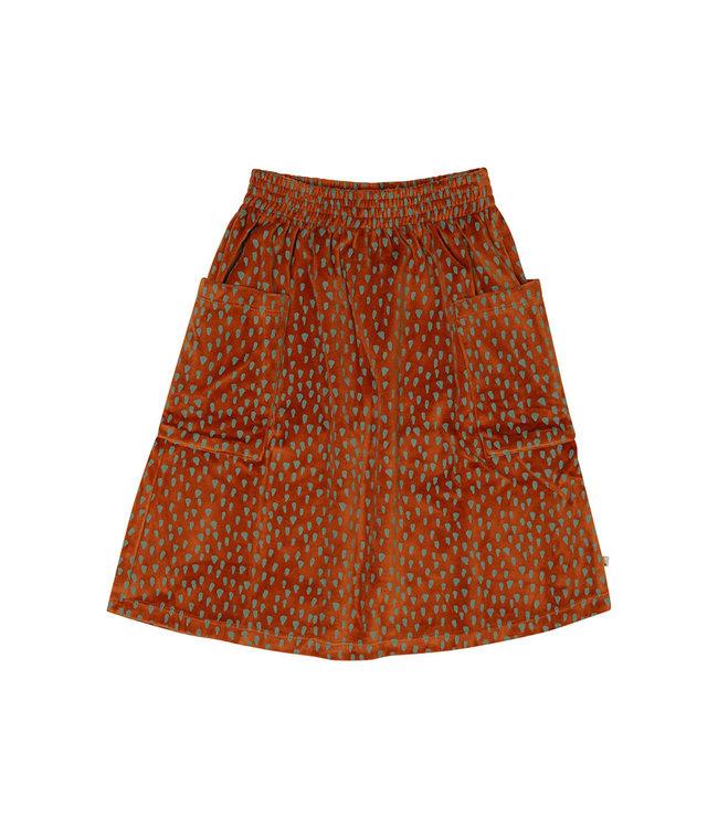 Mountain Air Sparkles - velours skirt wt pockets MAS128