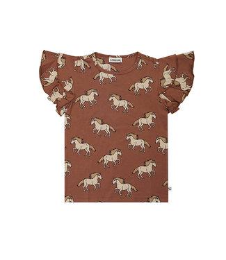 CarlijnQ Wild Horse - ruffled shirt WIH141