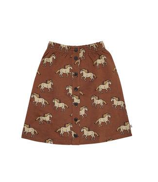 CarlijnQ Wild Horse - skirt wt buttons WIH148