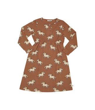 CarlijnQ Wild Horse - 2 button dress WIH133