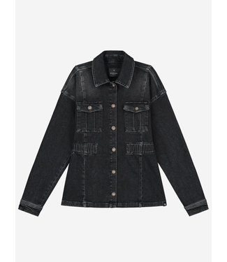 Nik&Nik Esly Denim Jacket G 4-987 Dark Grey