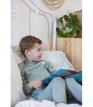 Feetje Wafel pyjama 305.533 | groen special