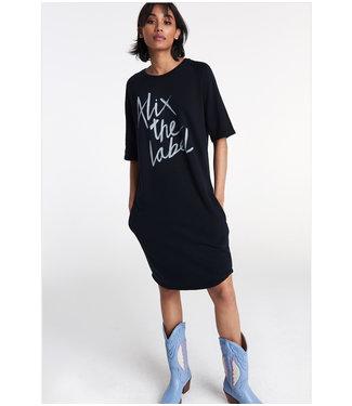 ALIX knitted Alix sweat dress black