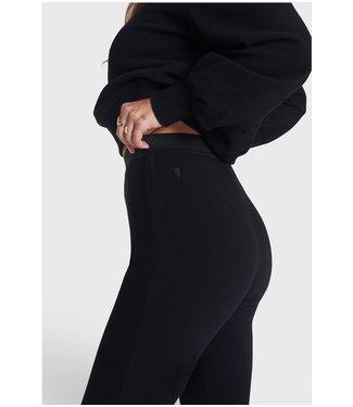 ALIX Knitted legging - black