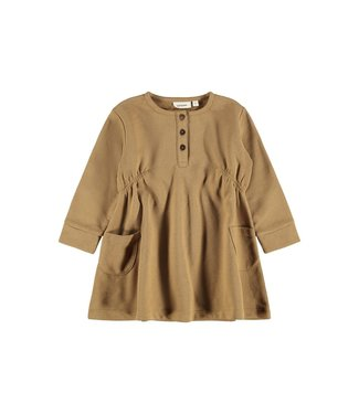 name it NMFELIPA Dress 13194146 Ermine