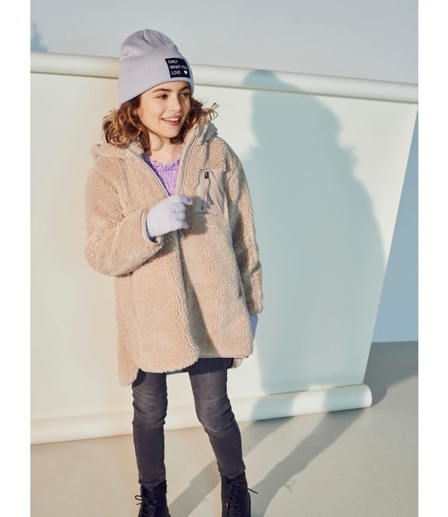 KONSASCHA Hood jacket 15231504 Cuban Sand