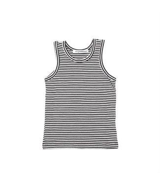 MINGO Singlet   b/w stripes