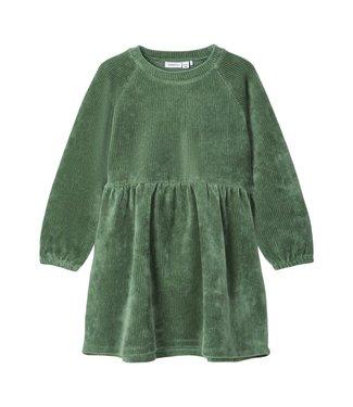 name it NMFRIE Dress 13186165 - Duck Green
