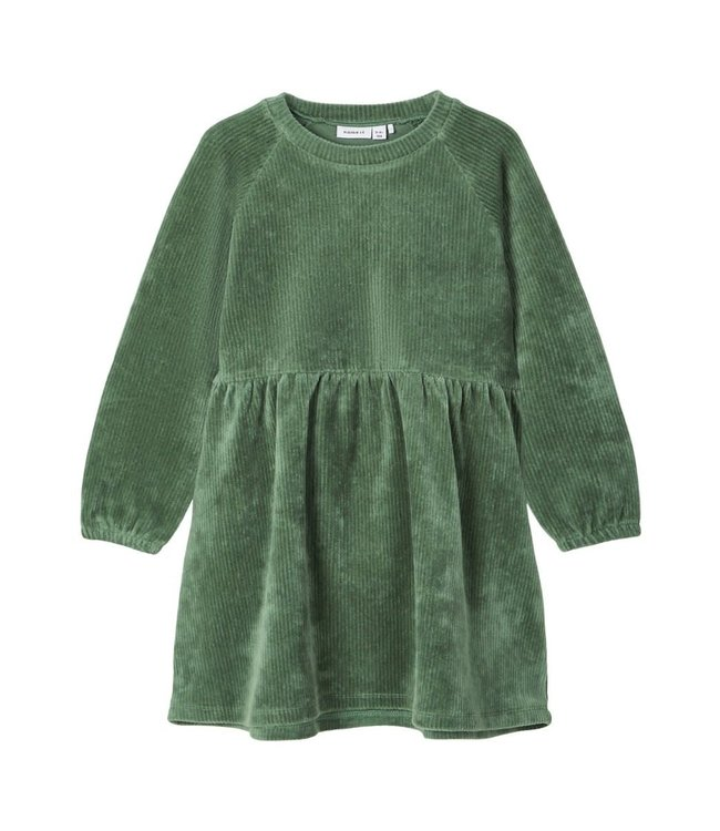 NMFRIE Dress 13186165 - Duck Green