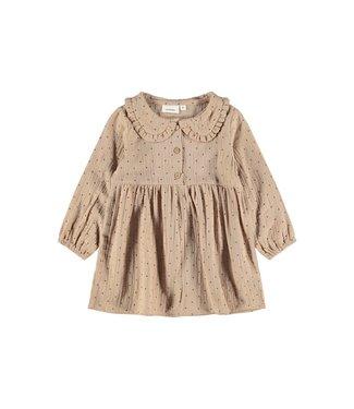 Lil Atelier NMFESTER Dress 13194164 Almondine