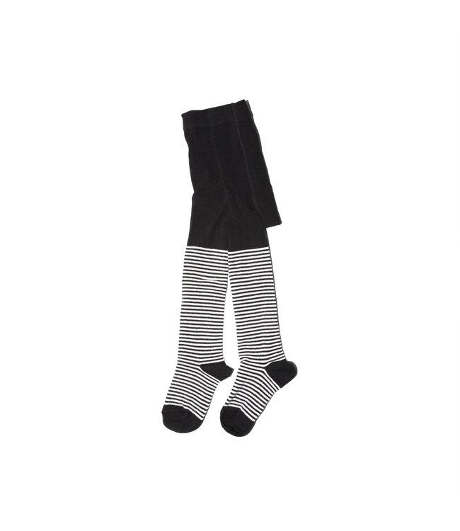 TIGHTS   striped/black