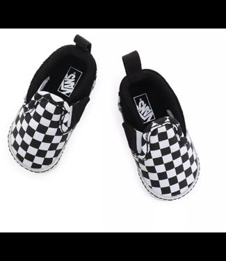 VANS IN Slip-On V Crib (Checker) Black/TrueWhite VN0A2XSLFB71