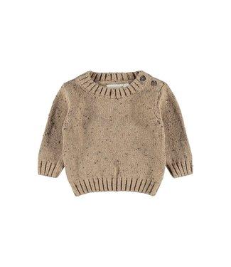 Lil Atelier NBMEGALTO Knit 13193782 Tobacco Brown