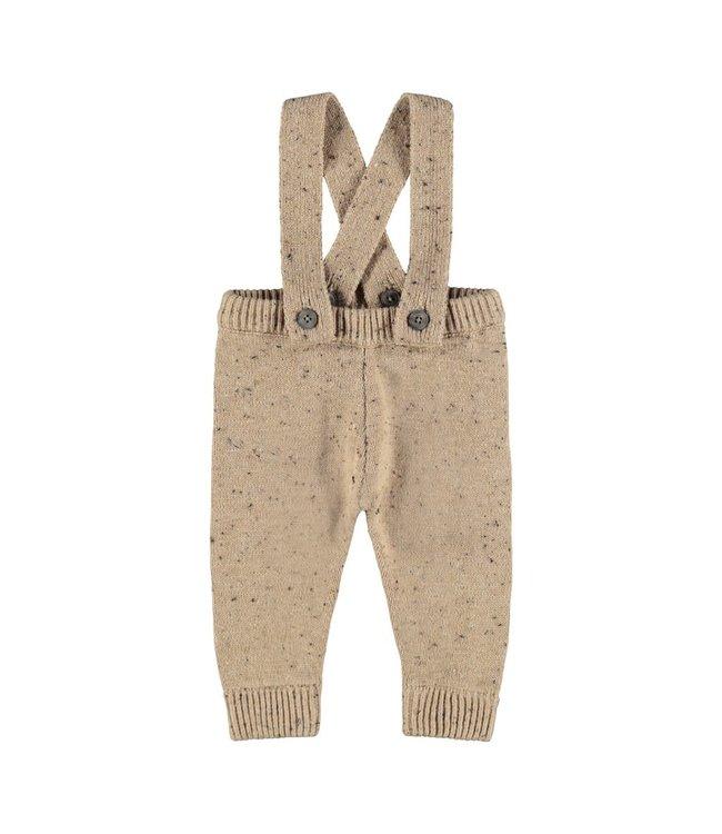 NBMEGALTO Knit pants 13193786 Tobacco Brown