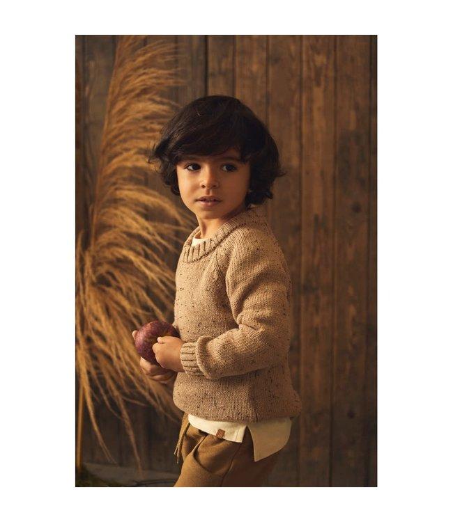 NMMEGALTO Knit 13193788 Tobacco Brown