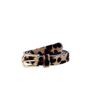 20401 belt - black leopard