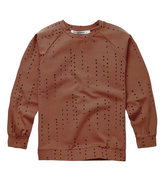 Long Sleeve Dewdrops on Burnished Leather