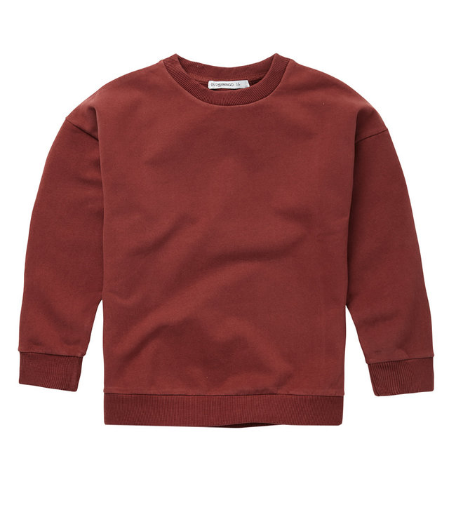 Sweater Brick Red