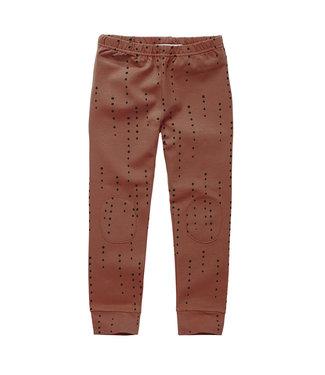 MINGO Legging Dewdrops Brunished Leather
